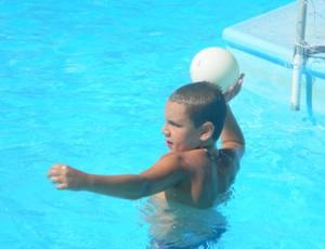 Pallanuoto Bambini 120 In Acqua Per Allenarsi Giocare E