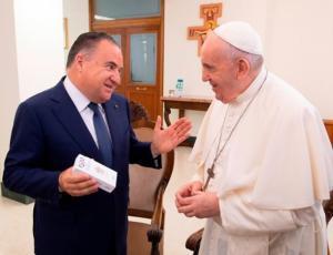 Papa Francesco Riceve I Vertici Di Vativision Umbrialeft It