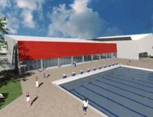 Il progetto delle piscine dello stadio di terni finalista - Piscine dello stadio ...